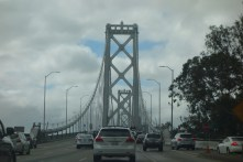 First time over the Bay Bridge since it has been rebuilt