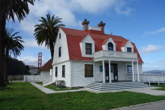Restored building near the Golden Gate