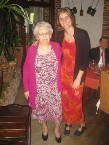 Oma (90) and I (35)