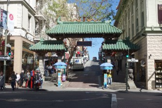 Chinese gate on Grant Street