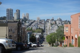 San Francisco has many very steep streets!