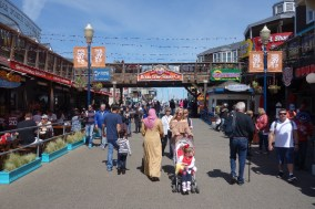 Pier 39 - a big tourist attraction