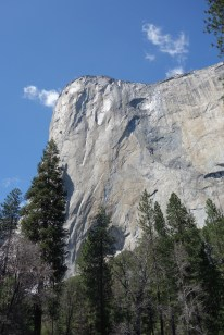 El Capitan - famous and extremely difficult to climb
