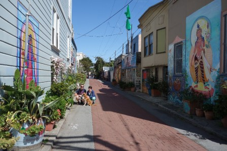 Balmy Alley and its street art