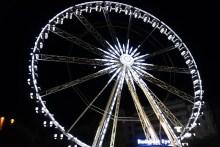 Big Ferris wheel in Pest