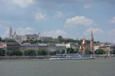View across the Danube from Pest