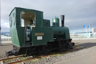 Minor,, one of two steam engines (both have been preserved) used to haul stone to build Reykjavik's breakwater
