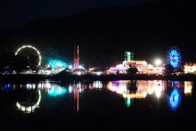 Marin Fair at night