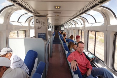The lounge or sightsee car