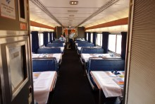 The restaurant car - we never ate here
