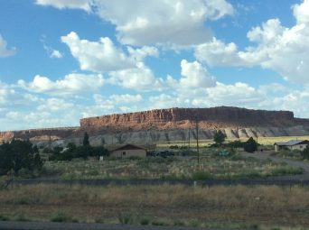 Along I-40 in New Mexico