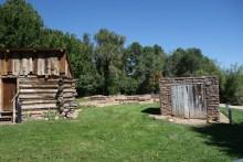 Fire cache, next to Romero Lodge