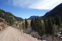 Walk along Old Fall River Road