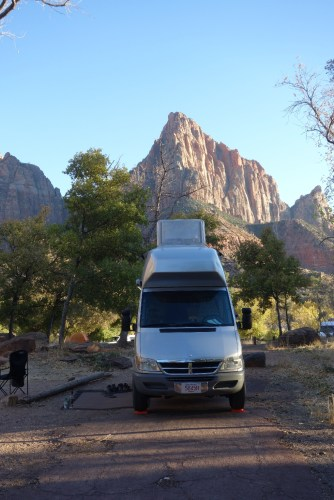 Campground in Zion NP