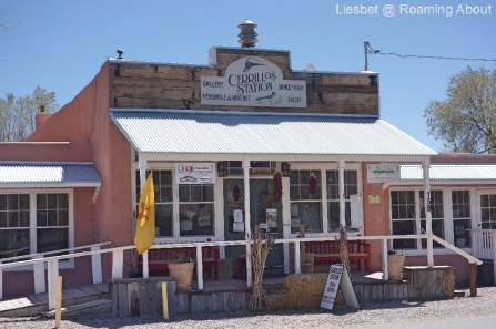 Cerrillos is an old mining town...