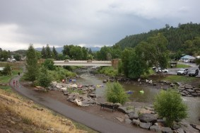 Pagosa Springs is popular for tubing and hot springs