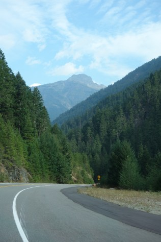 Approaching the main part of North Cascades National Park