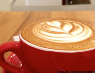 Flat white - A closer look to its Latte Art.