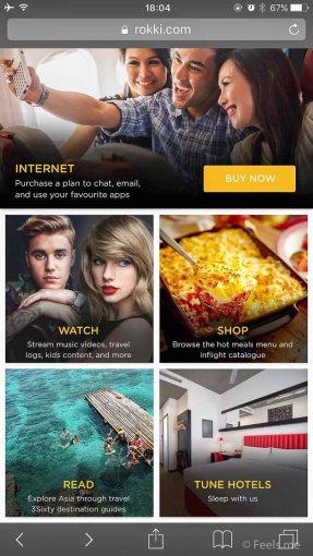 Air Asia SIN BKI Review Entertainment