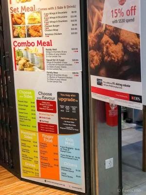 Two Wings' Salted Egg Yolk Fried Chicken Store Front