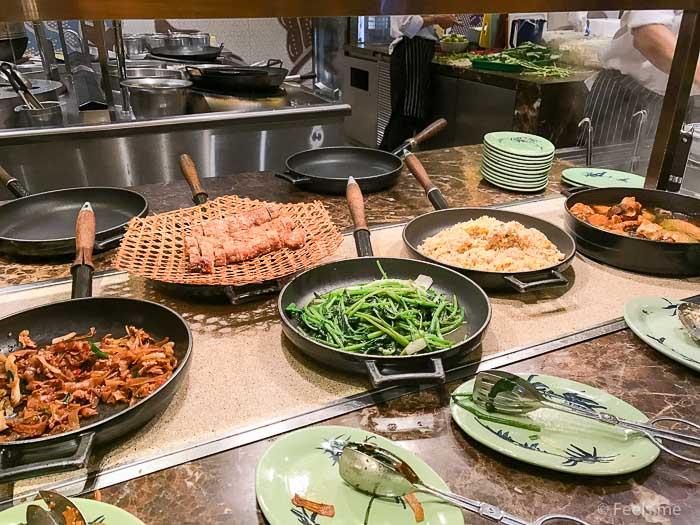 Hyatt Regency Kinabalu Breakfast Fried Rice and Rice Noodle