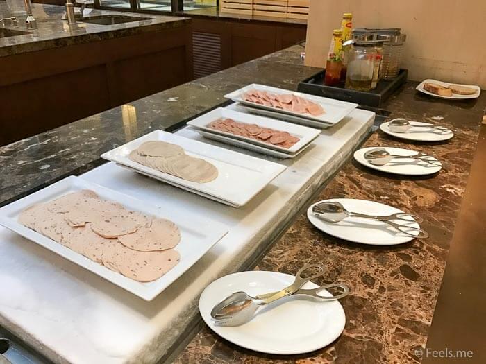 Hyatt Regency Kinabalu Breakfast Ham