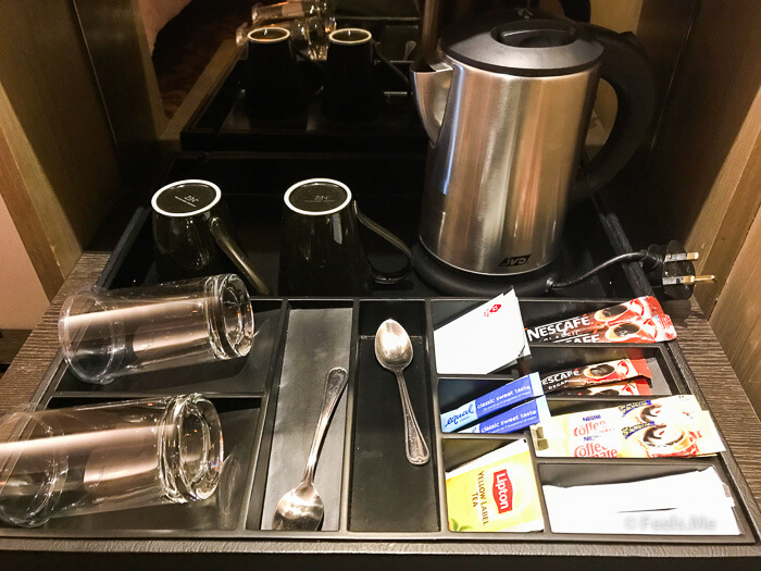 Hilton Petaling Jaya KL Complimentary tea and coffee