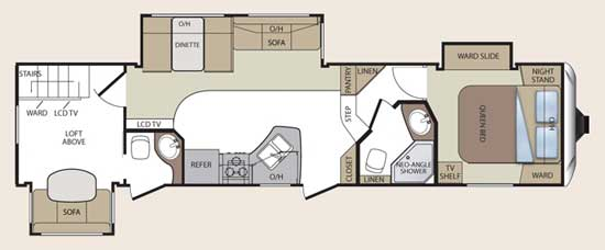 2 bedroom fifth wheel floor plans | centerfordemocracy