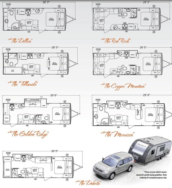 2005 Fleetwood Prowler Travel Trailer Floor Plans
