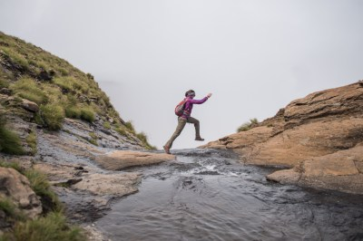 Tugela Falls jumping the fall