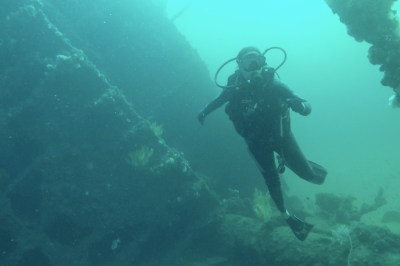 Umkomaas Produce wreck diving