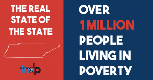 State of the State - Over 1 million people living in poverty in TN