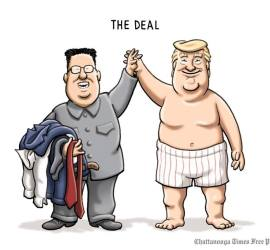 The Deal by Clay Bennett