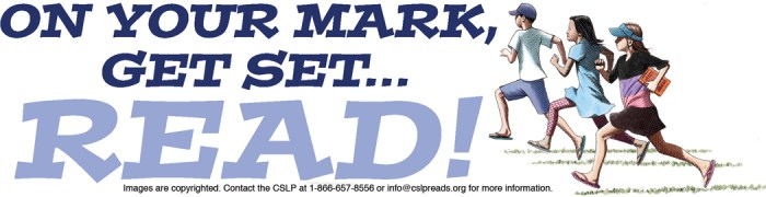 On Your Mark, Get Set, Read!