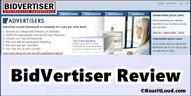 BidVertiser Review with BidVertiser Payment Proof of $432