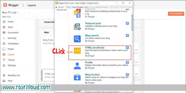 how to paste adsense ad code in blogger sidebar of blog