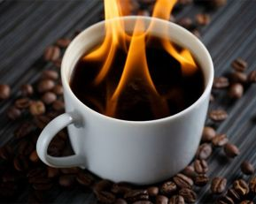 Burning Coffee