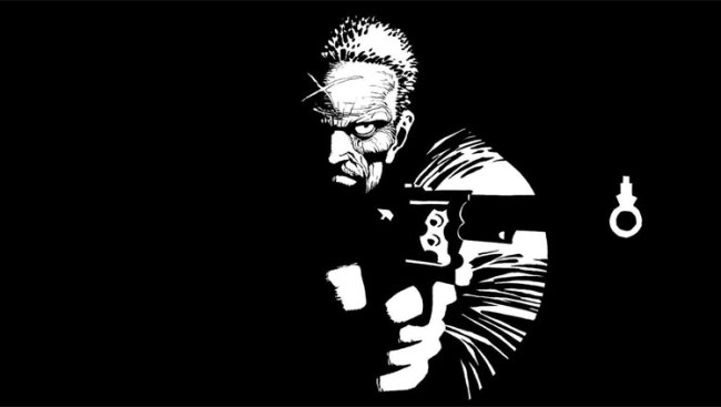 Sin City. Man with a gun. Spider-men - Rob Gregory Author