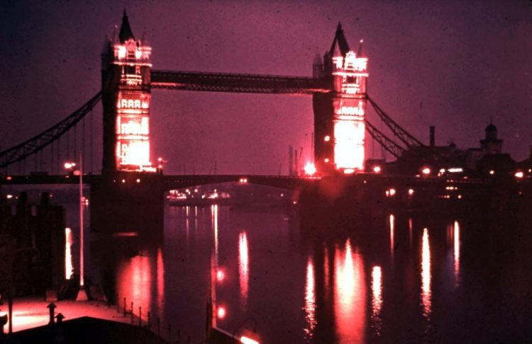 London lost - Tower Bridge. Rob Gregory Author