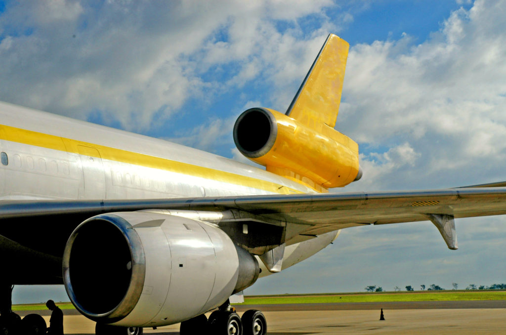 Nok Air - Rear of an aeroplane. Rob Gregory Author