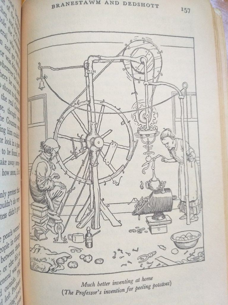 Professor Branestawm's potato peeling machine - Rob Gregory Author