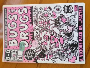 Cover of Bugs and Drugs - Rob Gregory Author
