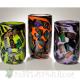 Dichroic cylinder vases