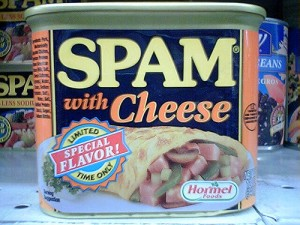 Spam with Cheese by kris247 on Flickr