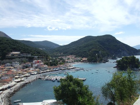 Parga from the Venetian Castle