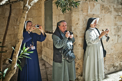NUNS WITH CAMERAS - Jerusalem, Israel