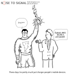 Shazam! charges a mobile phone by holding it in the air and getting struck by lightning