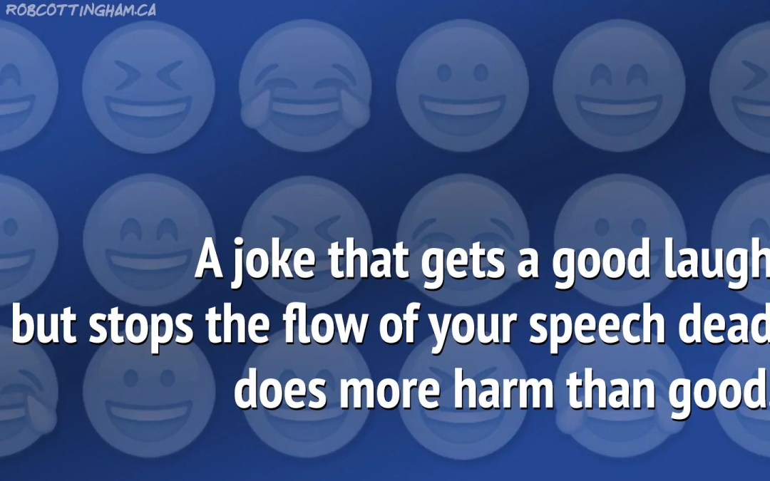 How to use humor in a speech (without getting burned) - Rob Cottingham
