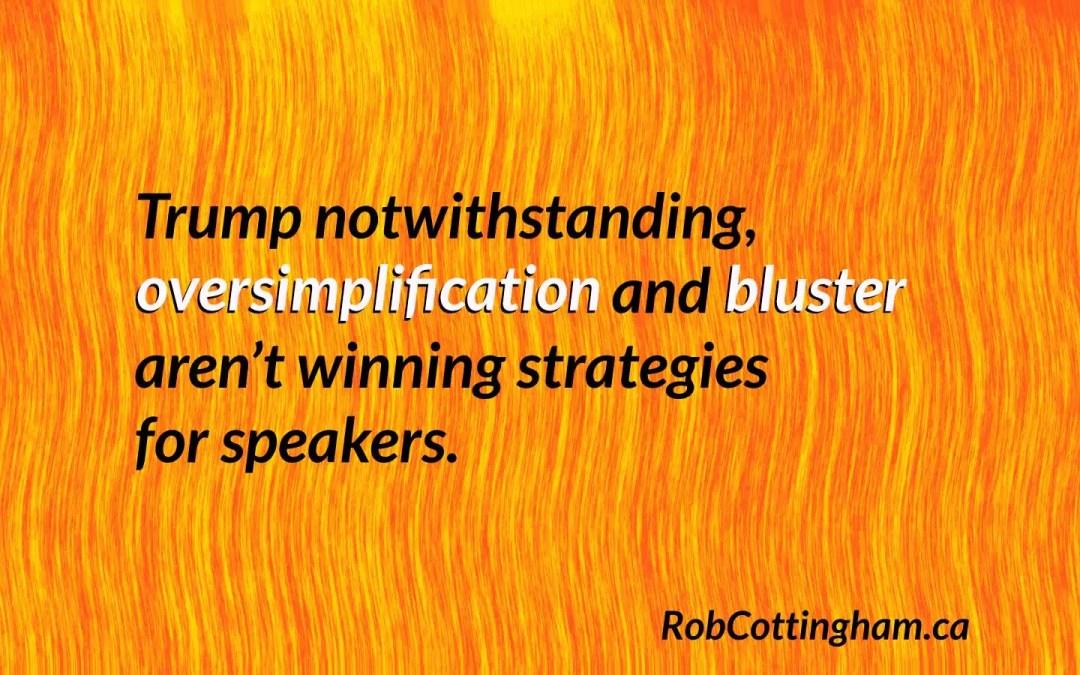 Will Donald Trump kill speechwriting? (Spoiler: no.)
