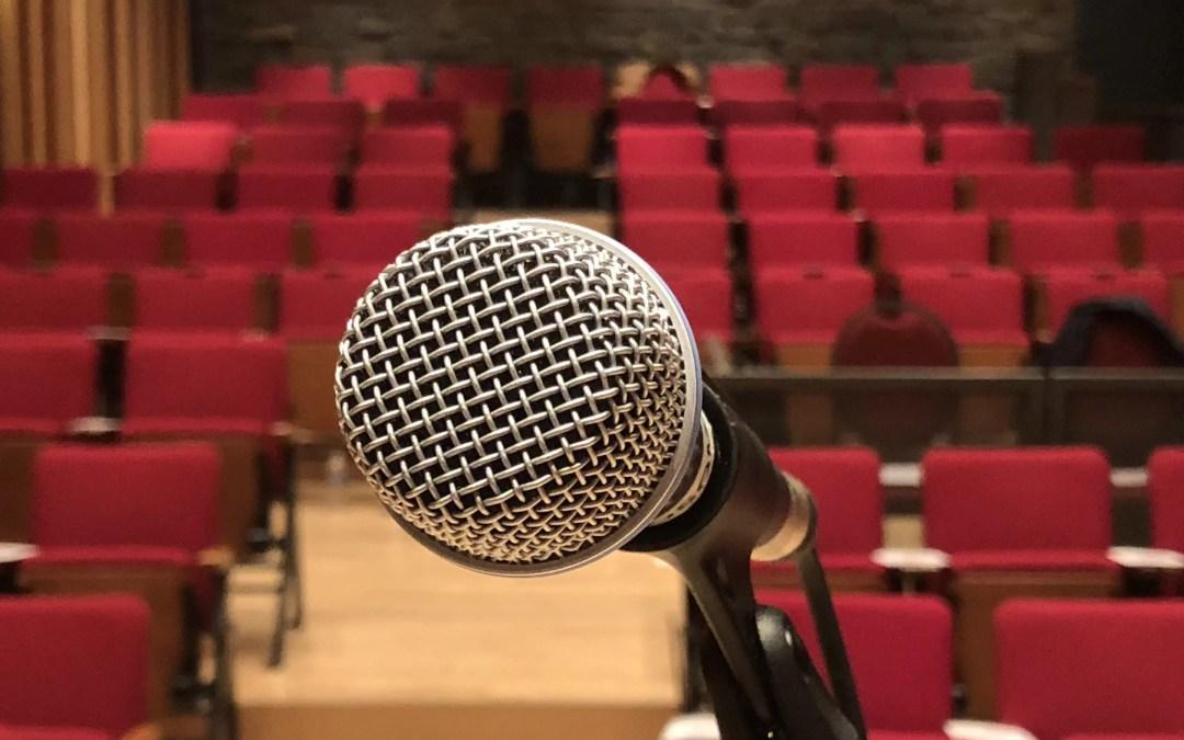 Ep. 35. Speechwriters on stage